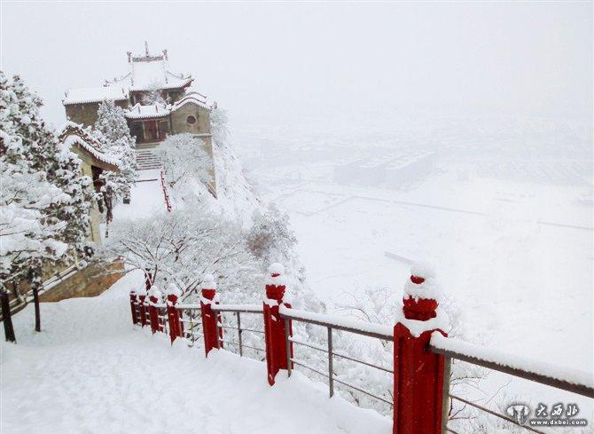 甘谷古风风景图