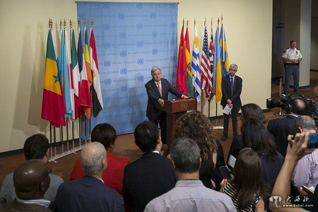 联合国秘书长强调应政治