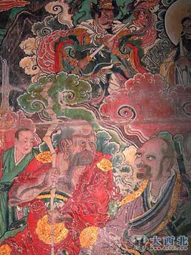 探秘可与敦煌壁画相媲美的东方仙画(2)