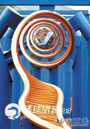 广州 番禺/中国广州番禺长隆欢乐世界极限十环过山车曾经是世界纪录
