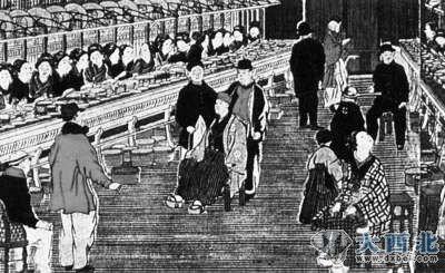 """日本/描绘纺织工厂的日本""""浮世绘"""""""