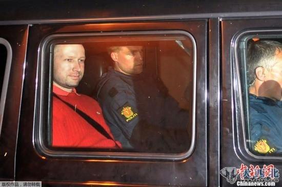 挪威致77死暴力事件凶手正式被控从事恐怖活