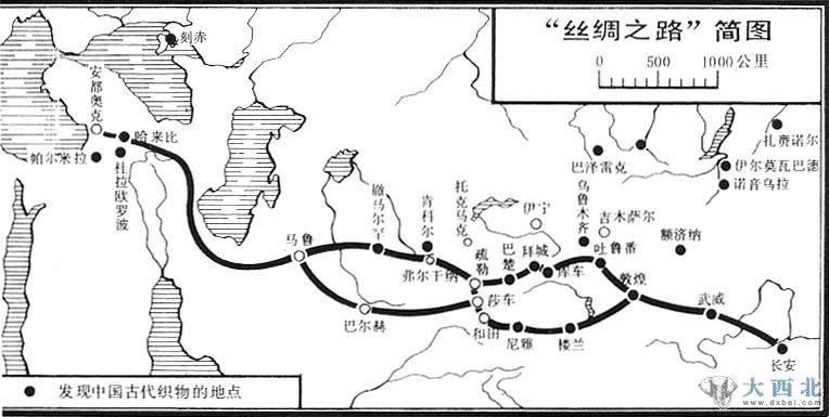 有关丝绸之路的图片_关于丝绸之路的故事_大西北网