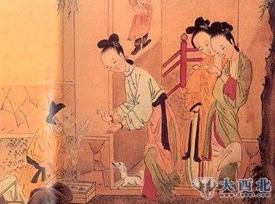 隋炀帝,唐高宗,武则天等,其实,中国古代的春宫画不仅起源于宫中的淫乐