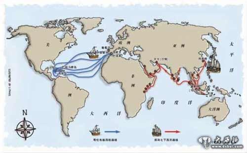 1492年10月12日哥伦布发现新大陆