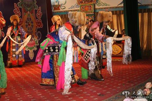 按华锐藏族古老的风俗