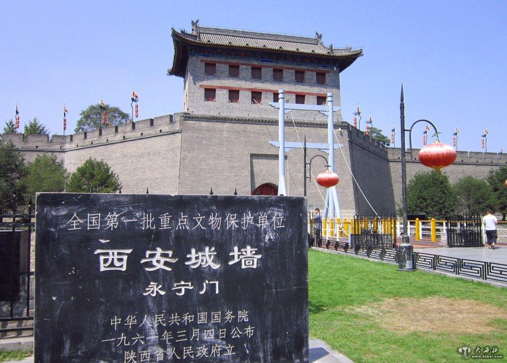 西安古城墙和城门历史故事渊源