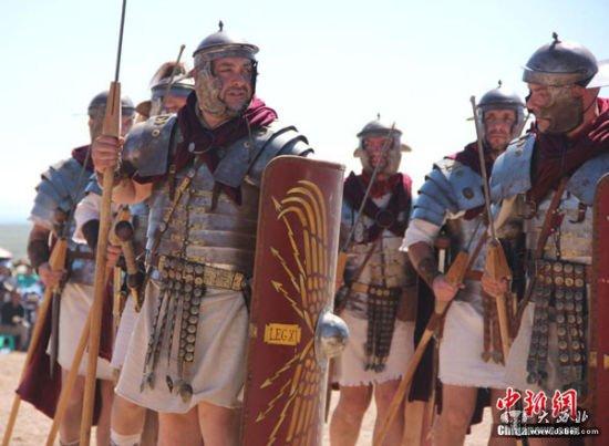 意大利32角斗士在永昌寻亲古罗马后裔