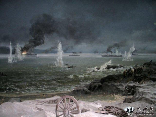 时进二月,北洋海军困守刘公岛,几近弹尽粮绝,一件令人发指