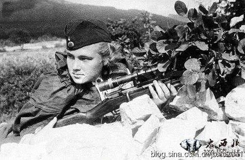 二战苏联美女狙击手老照片合集