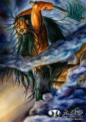 盘古开天的神话传说