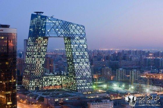 北京大裤衩建筑设计图