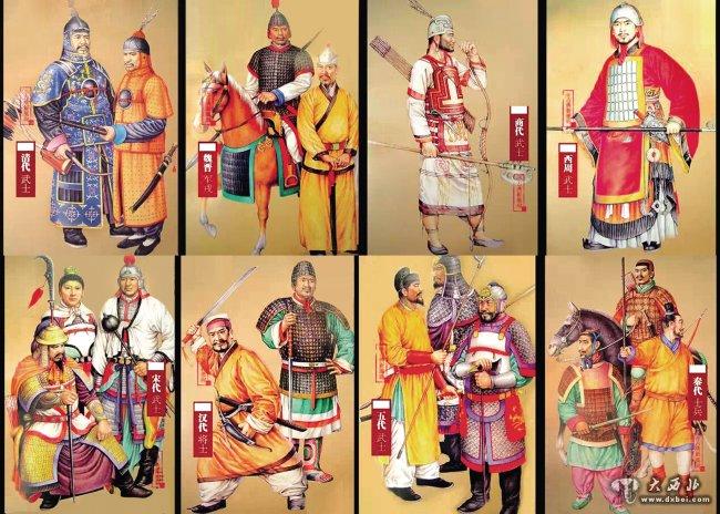 主页 tag标签 > 中国古代   复原中国古代士兵装束 日期:2015-03-01