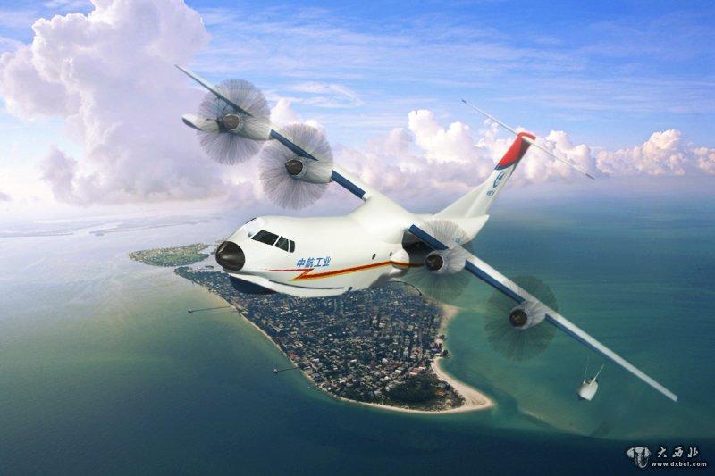 """两栖飞机——""""蛟龙""""AG600中段机身已于19日上午正式"""