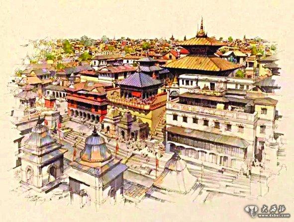 > 手绘尼泊尔