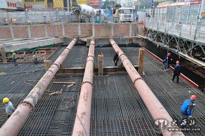 地铁4号线福元大桥西站 今年完成主体结构施工