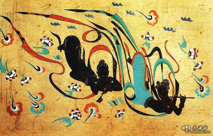 """深藏在敦煌壁画中的""""绝世武功""""图片"""
