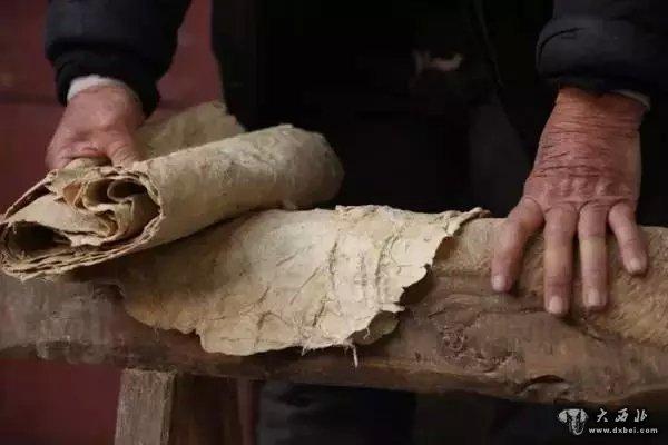 瞧瞧!古法造纸