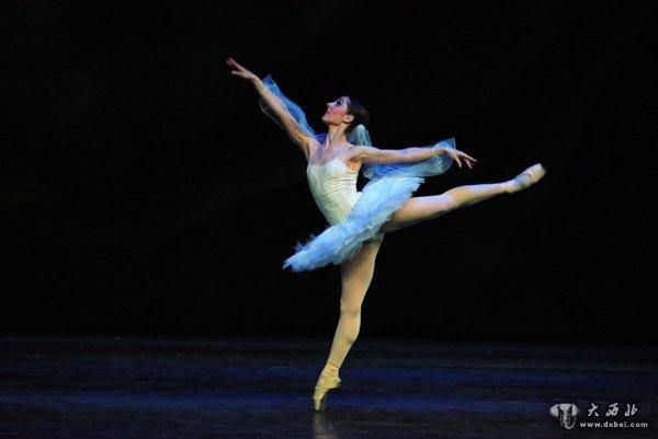乌克兰传世经典芭蕾舞剧 舞姬 在兰州激情上演