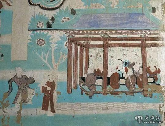 煌壁画中的古代劳动者