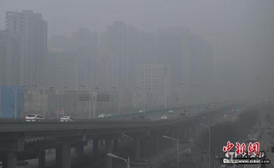 河北省气象台继续发布霾红色预警信号