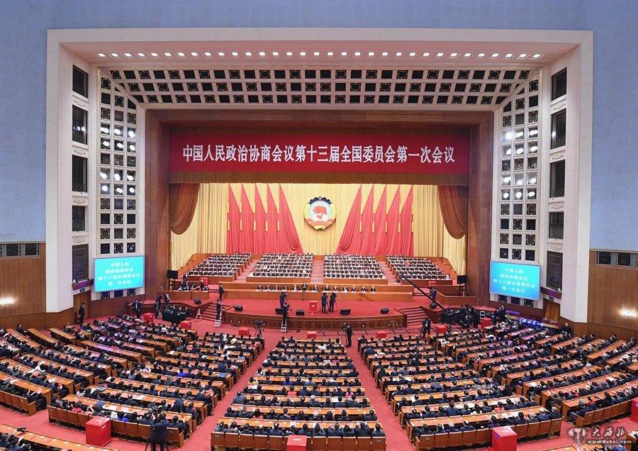 政协第十三届全国委员会选出领导人汪洋当选全国政协主