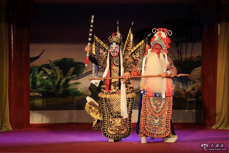 陕西省戏曲研究院秦腔传统戏《下河东》唱响京城